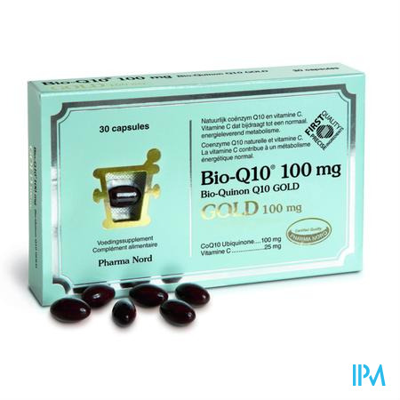 Bio-q10 100mg Gold Caps 30