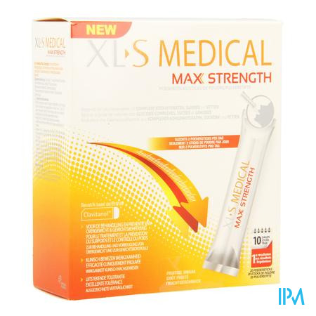Afbeelding XLS Medical Max Strength 20 Poedersticks met Fruitige Smaak.