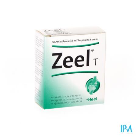 Zeel T Amp 10x2,0ml Heel