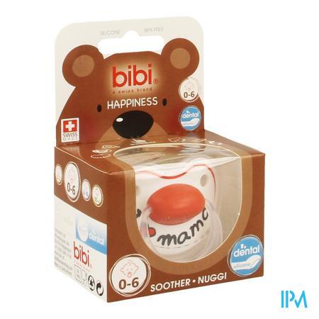 Bibi Sucette Hp Dental I Love Mama 0-6m