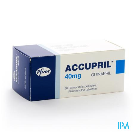 Accupril Comp 56 X 40mg