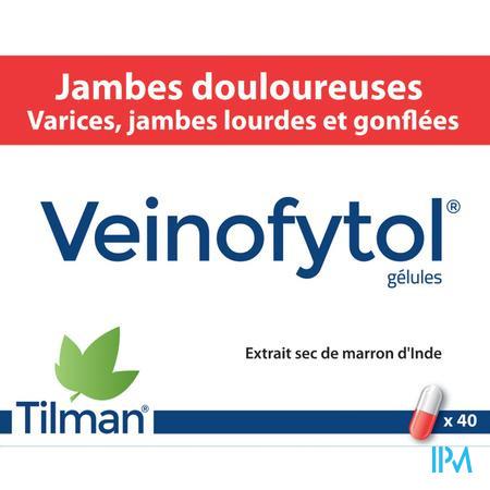 Veinofytol Capsule 40 X 50 mg  -  Tilman