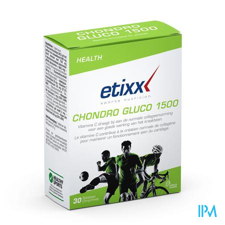 Afbeelding Etixx Chondro Gluco 1500 30 Tabletten .