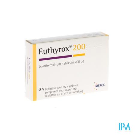 Euthyrox Comp 84 X 0,200mg