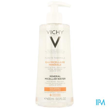 Vichy Pt Micellair Water Gevoelige Huid 400ml