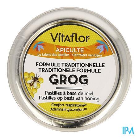Vitaflor Grog Tradit. Formule Honing Past. 45g