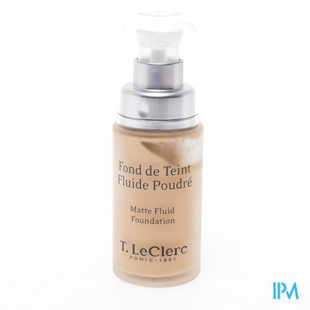 T.LeClerc Fond de Teint Fluide Mat 01 Ivoire 30ml