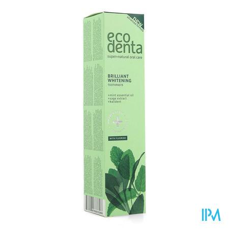 Eco Denta Whitening Tandpasta Ess. Olie Munt 100ml