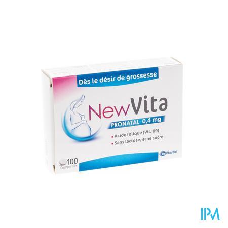 Newvita Pronatal 0,4 mg 100 tabletten