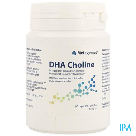 Dha-choline Pot Softgels 90 26771 Metagenics
