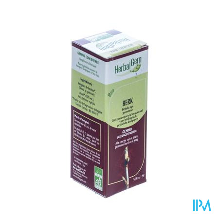 Herbalgem Berk Maceraat 50 ml