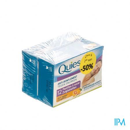Quies Zuigtabletten Anti-Snurk Citrus PROMO 2e aan  -50%