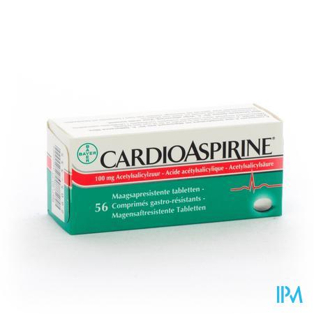 Afbeelding Cardioaspirine 100 mg 56 Tabletten.