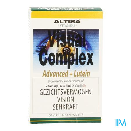 Altisa Visual Complex Advanced+luteine Tabl 60