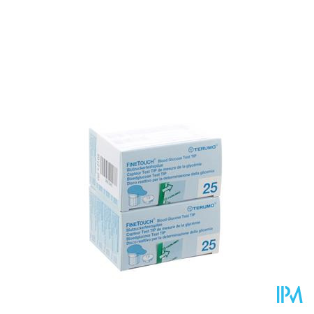 Terumo Finetouch Bloedglucose Test Strips 50 stuks