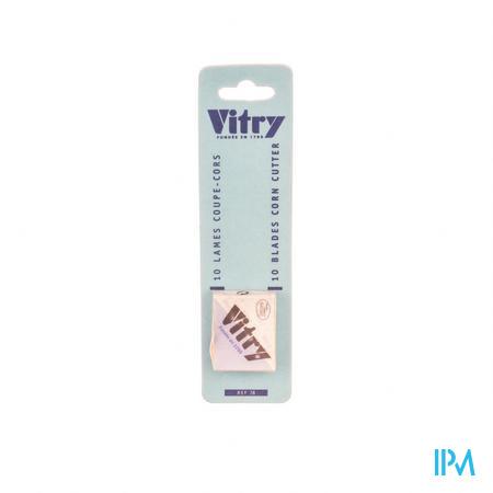 Vitry Classic Lames De Recharge 1078 10 pièces