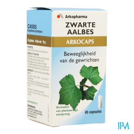 ArkoCapsule Zwarte Aalbes Plantaardig 45