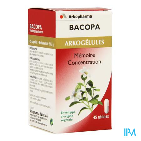 Arkogelules Bacopa Vegetal 45