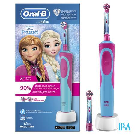 Oral-b Brosse Dents Vit.kids Frozen Box 3969144