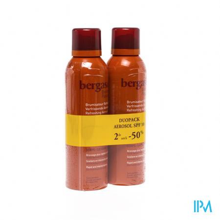 Bergasol Aerosol Spf 10 DUO 2 stuks  PROMO 2e spray aan -50%