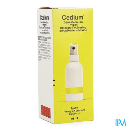 Cedium Benzalkonium Spray 50ml
