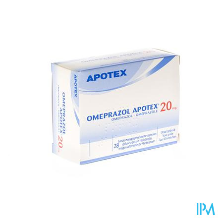 Omeprazol Apotex Caps 28 X 20mg