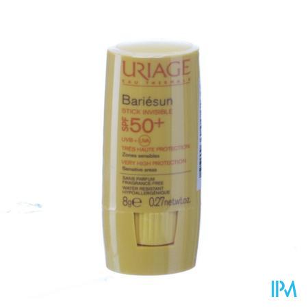 Afbeelding Uriage Bariésun Onzichtbare Zonnestick SPF 50+ voor Gevoelige Zones 8 g.
