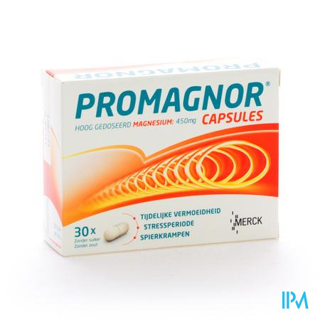 PROMAGNOR CAPS 30 X 450MG
