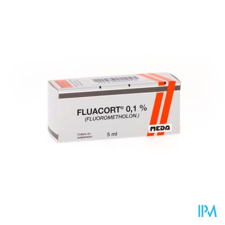 Fluacort Collyre 1mg/1ml 5ml