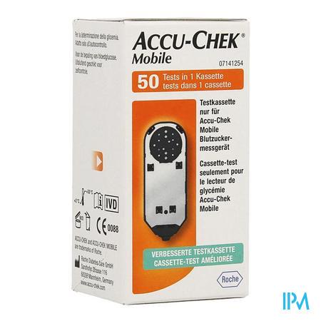 Accu Chek Mobile Test Cassette 50 Tests 7141254171  -  Roche Diagnostics