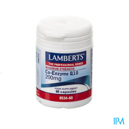 Lamberts Co-enzym Q10 200mg V-caps 60