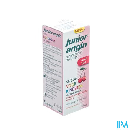 Farmawebshop - JUNIOR ANGIN SIROOP 150  ML