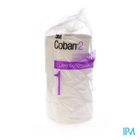 3M Coban 2 Lite Comfort 7.5Cm x 2.7M 1 stuk