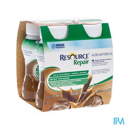Resource Repair Cafe Bouteille 4x200 ml  -  Nestle Belgilux