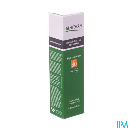 Alhydran Sun Protect Creme Ip30 59ml