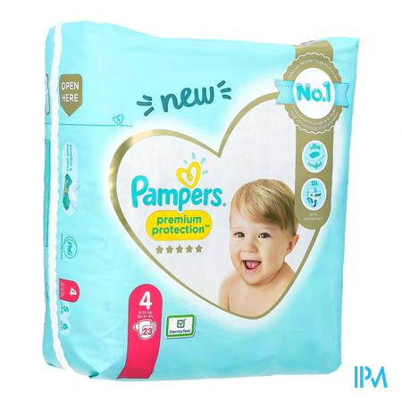 Pampers Premium Protection Carry Pack S4 23