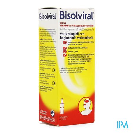 Afbeelding Bisolviral neusspray.