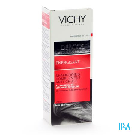 Vichy Dercos Shampooing Energisant à l'Aminexil anti-chute 200 ml