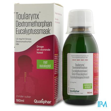Toularynx Dextromethorphan Eucalyptus 180 ml