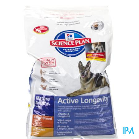 Hills Canine Hond Mature Adult Large Kip 12 kg