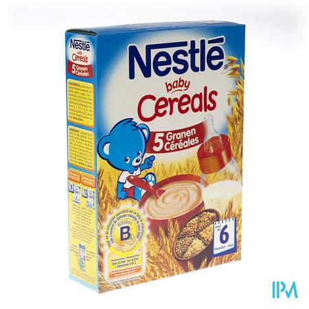 Baby Cereals 5 Graansoorten 250 g