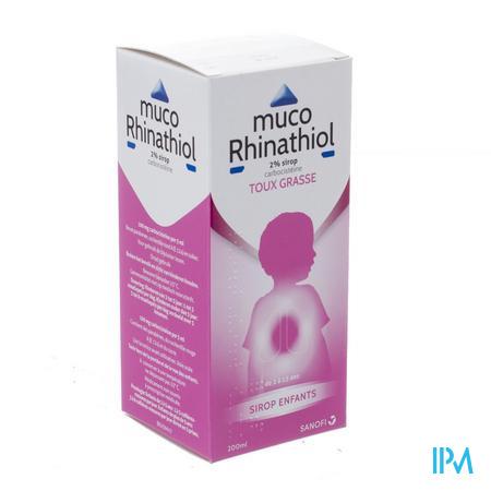 Muco Rhinathiol 2% Sirop Inf 200 ml