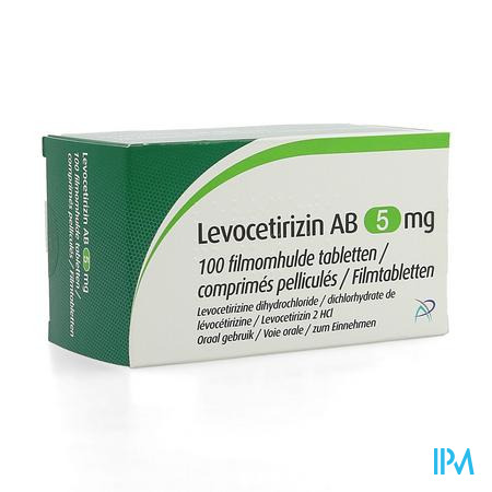 Levocetirizin Ab 5mg Filmomh Tabl 100 X 5mg