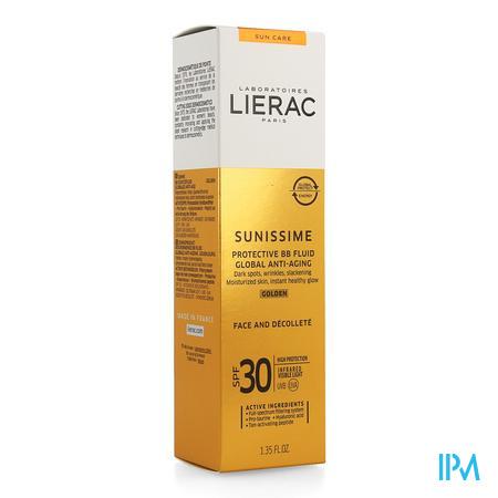 Lierac Sunissime Bb Fluid Dore Visage Ip30 Tb 40ml