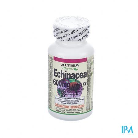 Altisa Echinacea 600mg Complex Weerstand Tabl 60