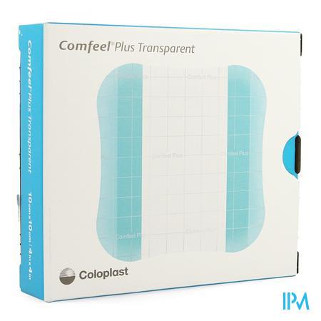 Comfeel Plus Transp Postop 10x10cm 10 33533