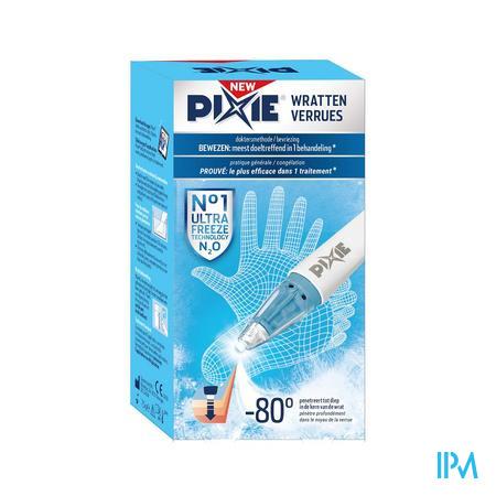 Pixie Pen 7,5g Tegen Wratten + N2o Patroon