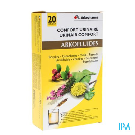 Arkofluide Confort Urinaire 20 x 15 ml ampoules