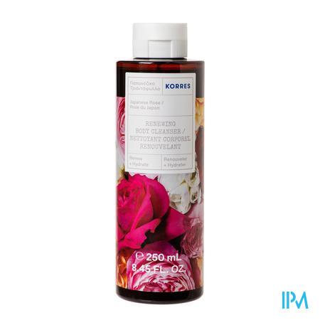 Korres Kb Japanese Rose Showergel Body Cl. 250ml