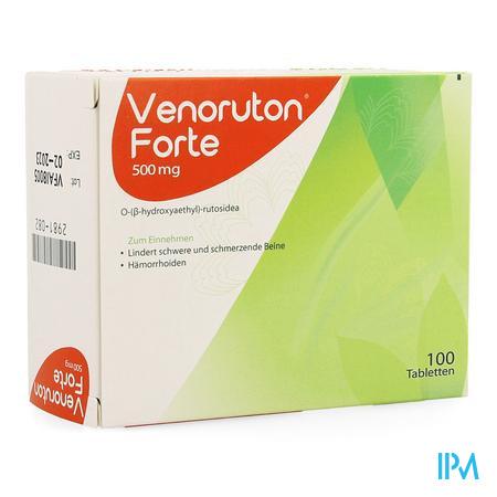 Venoruton Forte 100 X 500 mg